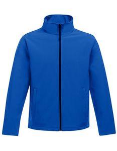 Regatta Professional Damen Softshell-Jacke Ablaze Printable Softshell Jacket TRA629 New Royal/Black 38 (12)