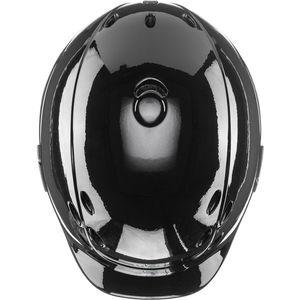 UVEX Kinderreithelm ONYXX SHINY VG1, black shiny, XXXS-XS (49-54cm)