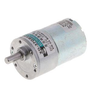 DC Motor 12V 10W Micro Speed Reduzieren Rad Getriebemotor für Modellbau 300Rpm