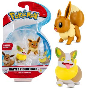 Pokémon - Battle Figuren Evoli & Voldi
