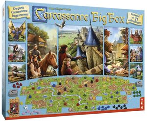 999 Games brettspiel Carcassonne Big Box 3