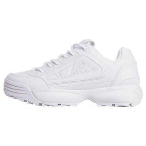 Kappa Damen Sneaker Sneaker Low Synthetik weiß 38