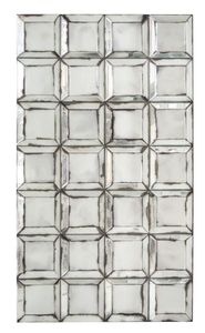Casa Padrino Designer Wandspiegel mit antikem Spiegelglas 80 x H. 140 cm - Wohnzimmer Spiegel