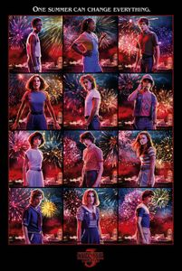Stranger Things Poster - Character Montage (91 x 61 cm)
