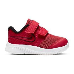 Nike Kinder Sneaker  Leder-/Textilkombination rot 27