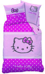 Bettwäsche Baumwolle Hello Kitty LOLA 135x200cm