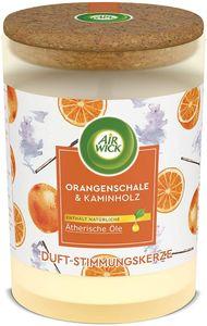 Air Wick Duft-Stimmungskerze Orangenschale & Kaminholz Duftkerze Kerze Winter