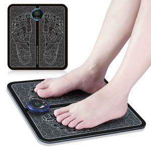 Elektrisches EMS Fußmassagegerät Muskelstimulator Blutkreislauf LED-Anzeigetyp Massagekissen