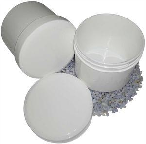 100 Salbendosen Salbendose Cremdose 150 g 185 ml Deckel weiß