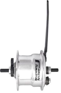 Sturmey Archer Hub X-FDD dynamo 3.0W für 36G alu silver