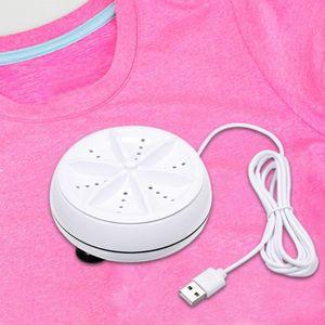 Mini-Waschmaschine Rotierende Ultraschall-Turbinen Waschmaschine Tragbare persoenliche Waschmaschine Praktische Home Business Travel Waschmaschine