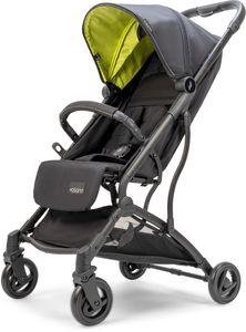 Osann Sport-Buggy Vegas – sportlicher Kinderwagen ab Geburt bis 22 kg – Buggy in Lime mit Sonnenverdeck LSF 50+