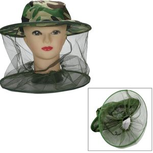 Kopf hut net breite krempe anti insekt biene fly schutzhš¹lle mesh Fš¹r imker maske abdeckung Z4N5