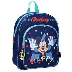 Minnie & Mickey Mouse Rucksäcke Disney Mickey Mouse Kinderrucksack - Happy - Blau