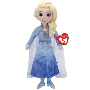 Ty 02406 Disney Frozen 2 - Elsa Prinzessin mit Sound - 24 cm