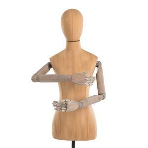 Mannequin Schneiderpuppe Schaufensterpuppe Hans Boodt Esprit Figur Büste Vintage
