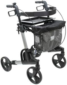 FabaCare Rollator Kudu Standard,  Aluminium-Leichtgewichtrollator, silber