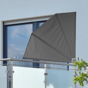 Balkon Sichtschutz Windschutz Balkonfächer Sonnenschutz klappbar mit Tasche