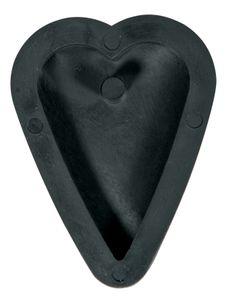 "Gießform ""Anhänger Herz"", ca. 2,7 x 3,9 cm"
