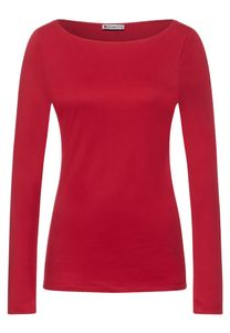Street One Damen Langarmshirt A316885 Full Red