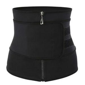 Damen Taillen-Gürtel, Schweißgürtel Schwitzgürtel Taillengürtel Unterbrust Taille Cincher Body Shaper Gürtel für Fitness Training Größe Schwarz XL