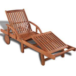 Chunhe Sonnenliege Massivholz Akazie Garten-Liegestühle Gartenliege Relaxliege Schaukelliege Liegestuhl Schaukelstuhl