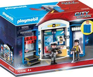 """Playmobil, Spielbox """"In der Polizeistation"""", City Action, 70306"""