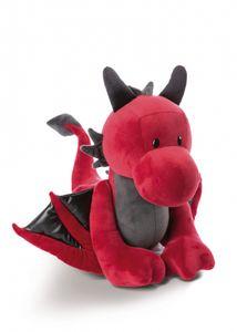 Nici 46712 roter Drache Eldor 20cm stehend Plüsch Kuscheltier Dragonia