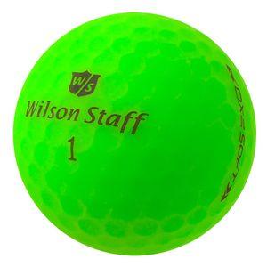 25 x Wilson Staff DX2 Soft Optix - PearlSelection - matt grün - Lakeballs
