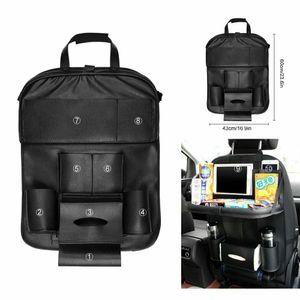 1 Stück Rückenlehnentasche Rückenlehnenschutz Rücksitz Autositz Organizer Auto Rücksitz Organizer Sitzschoner mit Tisch Tasche