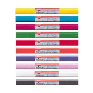 10 Rollen Herlitz Krepppapier / Bastelkrepp / 50x250cm  / 10 verschieden Farben