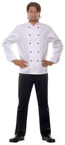 zweireihige 5-Loch-Jacke weiß Herren karlowsky Arbeitsjacke Kochjacke Kochbekleidung, Größe:66