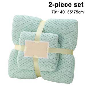 Badetuch, Badetuch m Saunahandtuch Set Mikrofaser Hochabsorbierende Handtücher für Badezimmer, Duschtuch