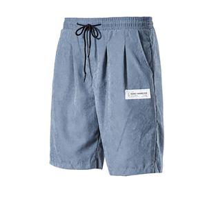 Herrenmode Sommer Kordelzug Tasche Strandhose Shorts Freizeithose Größe:XXL,Farbe:Blau
