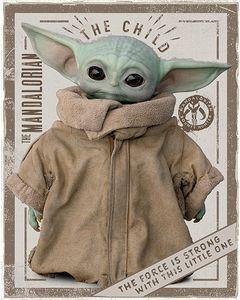 The Mandalorian Baby Yoda  50 x 40 cm