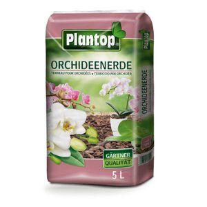 ORCHIDEENERDE 5 l Hochwertige Spezialerde für Orchideen. Pinienrinde mit Spaghnum