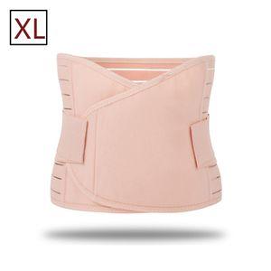 3 in 1 Postpartum-Gürtel nach der Geburt Bauchband Unterstützung C-Abschnitt Recovery-Gürtel für alle Größe Taille Becken, XL