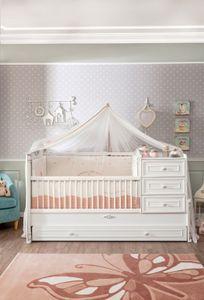 Cilek ROMANTIC BABY Babybett Bett Kinderbett Kinderzimmer Weiß