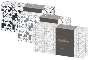 satino by wepa Kosmetiktücher Prestige 2-lagig hochweiß