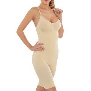 Damen Korsagen Body, Bauch weg Schlank Body, Formbody,Damenunterwäsche S211-M-Beige