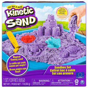 Amigo Spin Master Kinetic Sand Box Set in der Farbe lila 450g