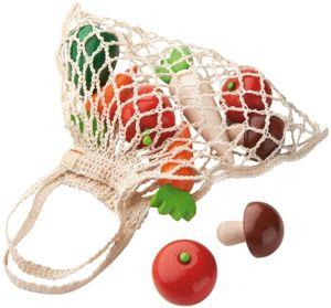 Haba Kaufladen Einkaufsnetz Gemüse