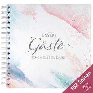 WeddingTree Gästebuch Hochzeit Elegantes Hochzeit Gästebuch - Aquarell