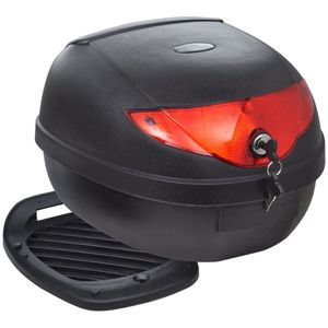 dereoir Motorradkoffer 36L für einen Helm