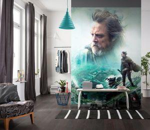 """Komar Fototapete """"Star Wars  – The last Jedi"""", bunt, 184 x 254 cm"""