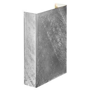 Nordlux Fold 15, Verzinkter Stahl, Transparent