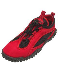 Playshoes Aqua-Schuh mit Schnürverschluss Größe: 43, in rot