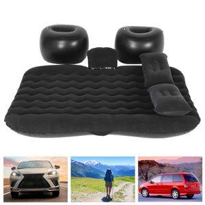 Auto Luftmatratze Camping Reisebett Schlaf Luftbett Matratze für Auto Rücksitz Beflockung+PVC 131 x 75 cm