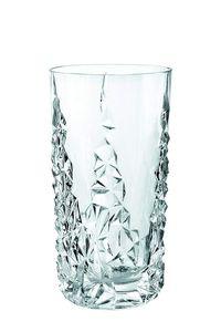 Nachtmann Vorteilsset 2 x  4 Glas/Stck Longdrink 258/91 Sculpture  101967 und Gratis 1 x Trinitae Körperpflegeprodukt