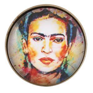 Abzeichen Broschen Abzeichen Brosche Pins Retro Frida Kahlo Metall Kreative Patches Frauen